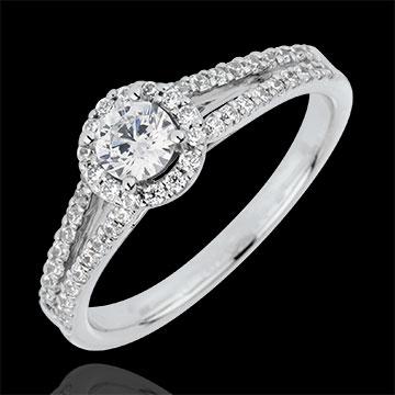 Bague de Fiançailles Destinée - Joséphine - diamant 0.3 carat