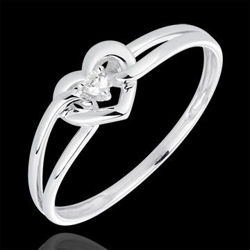 bague de mariage femme avec diamant #6