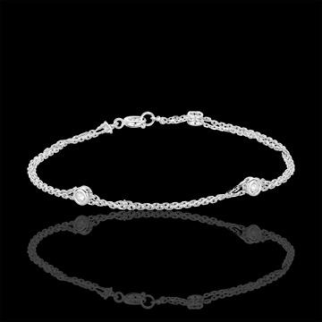 cadeau femme Bracelet Zodiaque or blanc et diamants
