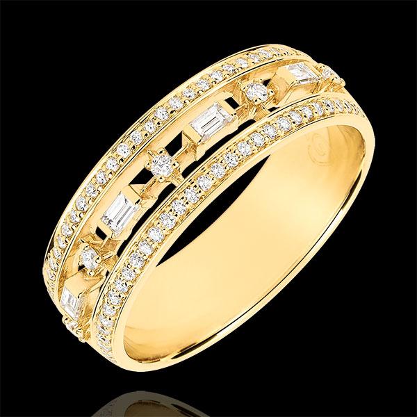 Bague Destinée - Petite Impératrice - 71 diamants - or jaune 9 carats - Edenly - Edenly - Modalova