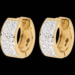 <a href=http://en.edenly.com/jewels/diorama-earrings-paved-yellow-gold-20-diamonds,206.html>Earrings Constellation - Astral variation - large size - yellow gold - 0.2 carat - 20 diamonds <br><span  class='prixf'>SALE:  � 279</span> (-63%) </a>