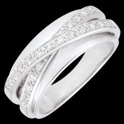 <a href=http://es.edenly.com/joyas/anillo-saturno-bella,1230.html>Anillo Saturno Espejo - oro blanco - 23 diamantes <br><span  class='prixf'>850 &#x20AC;</span> (-53%) </a>