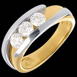 <a href=http://en.edenly.com/jewels/interlocking-trilogy-ring-yellow-and-white-gold-77,69.html>Interlocking trilogy ring yellow and white gold - 0.77 carat - 3diamonds <br><span  class='prixf'>� 1869</span> (-44%) </a>