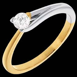 <a href=http://en.edenly.com/jewels/fusion-solitaire-ring-yellow-gold-white-23-carat,11.html>Fusion Solitaire ring - yellow and white gold - 0.23 carat <br><span  class='prixf'>� 639</span> (-45%) </a>