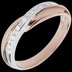 <a href=http://en.edenly.com/jewels/wedding-ring-pink-gold-and-white-gold-channel-sett,3123.html>Wedding Ring  - Pink gold and white gold channel setting - 7 diamonds <br><span  class='prixf'>� 379</span> (-41%) </a>