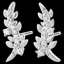 <a href=http://en.edenly.com/jewels/earrings-enchanted-garden-foliage-royal-white-gold,3278.html>Earrings Enchanted Garden - Foliage Royal - White gold and diamonds - 18 carat <br><span  class='prixf'>SALE:  � 159</span> (-62%) </a>