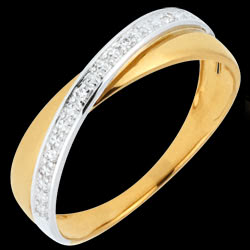 <a href=http://en.edenly.com/jewels/twice-ring-acrobat-two-golds,2161.html>Wedding Ring Saturn Duo - diamonds - yellow and white gold - 18 carat <br><span  class='prixf'>� 239</span> (-34%) </a>