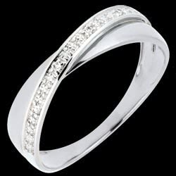 <a href=http://www.edenly.com/bijoux/ap2198-bague-funambule-doubles-anneaux-or-blanc,2198.html>Alliance Saturne Duo - diamants - or blanc - 9 carats <br><span  class='prixf'>190 &#x20AC;</span> (-17%) </a>