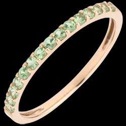 <a href=http://en.edenly.com/jewels/single-row-ring-pink-gold-and-tsavorite,1719.html>Single row Ring  - Pink gold and Tsavorite <br><span  class='prixf'>� 109</span> (-29%) </a>